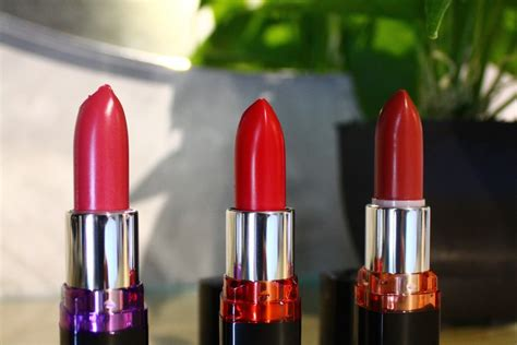 Lipstick Maybelline Color Show maybelline color show lipstick review swatches facemadeup