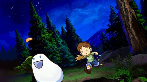a and his boy a boy and his blob