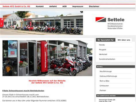 Motorrad Kaufen Ulm by Honda Motorrad Werkstatt Ulm Motorrad Bild Idee