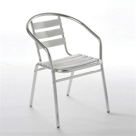 Aluminium Bistro Table And Chairs Stylish Bistro Chair In Aluminium 2305 Furniture In Fashion