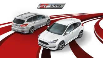 Ford Line Of Cars Ford Focus St Line Sport Style Car Ford Uk