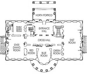 Floor Plan Of The White House by White House Residence Floor Plan First Floor Plan Of The White
