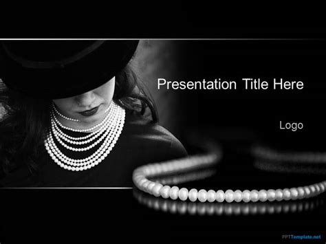 powerpoint templates jewellery free jewelry ppt template
