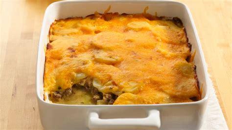 potato and ground beef gratin recipe from betty crocker