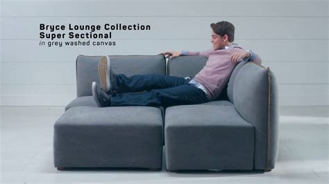 pottery barn teen sectional sit stay bryce lounge sectional collection pbteen