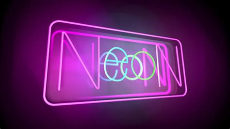 how to create neon typography in cinema 4d cinema 4d related keywords suggestions for neon sign cinema