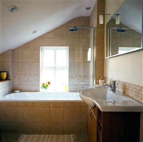 attic bathroom sloped ceiling 1920s bathroom sloped ceiling attic bathrooms with