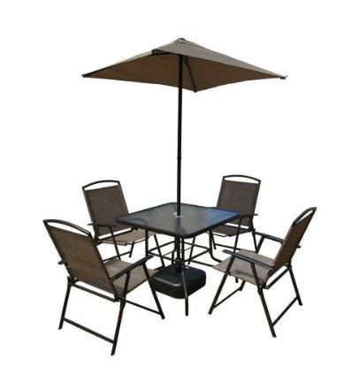 Target Outdoor Patio by 7 Piece Steel Sling Folding Patio Set Only 94 98 At Home