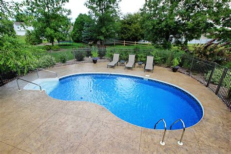 cost of putting a pool in your backyard cannon pools and spas photo gallery