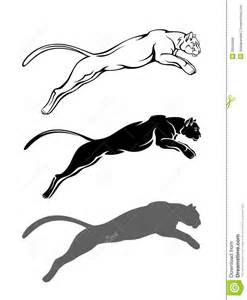 cougar outline clip art   viewing gallery