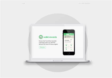 mobile rewards wallet rewards mobile app on behance