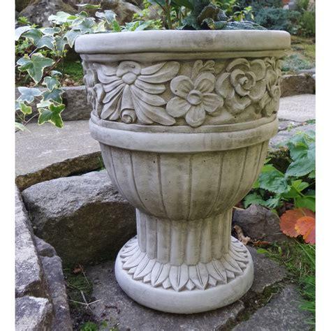 Vase Planter by Large Vase Urn Flower Pot Planter Cast Garden
