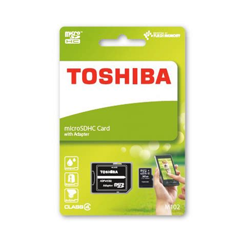 Micro Sd Toshiba 8gb Class 10 toshiba high speed m102 microsdhc 8gb clase 4 adaptador