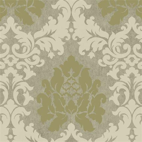 wallpaper green damask green grey hav40727 haven damask wallpaper hav40727