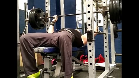 daily bench press 165kg daily max bench press youtube