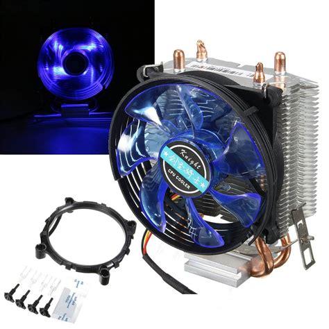 Sale Cpu Cooler Lga Fan Lga775 Pc Cooler brand new 95x95x25mm led cooler cpu fan heatsink copper for intel lga775 1156 1155 for amd am2