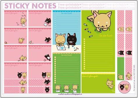 Printable Sticky Notes