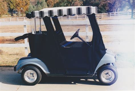 Custom Awnings Golf Carts Custom Canvas