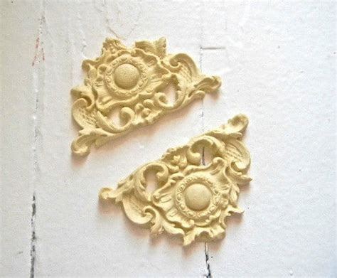 furniture architectural appliques corners wood resin