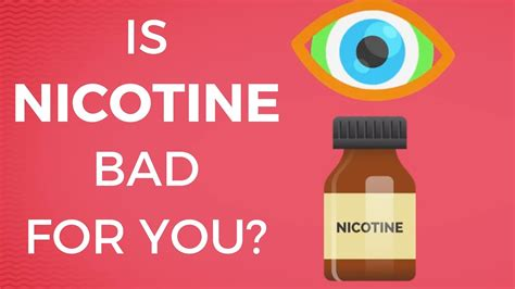 Is For You by Is Nicotine Bad For You