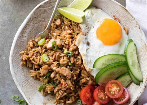 nasi goreng indonesian fried rice recipetin eats