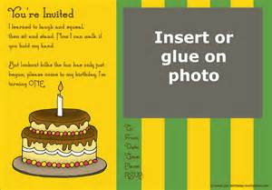 20 cute 1st birthday invitations free printable and original