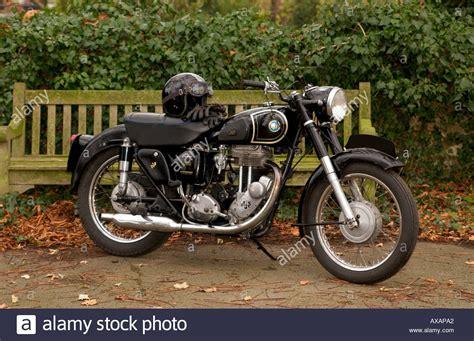 Oldtimer Motorrad Ajs by 1955 Ajs 18 S Oldtimer Motorrad Stockfoto Bild 5480097