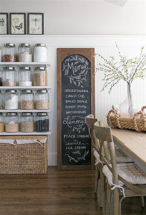 diy chalkboard room decor using chalkboard as a home d 233 cor 13 different cool diy