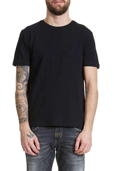 Mc F Kaos T Shirt Mc F t shirts noir homme ori t shirt homme blackrock col rond