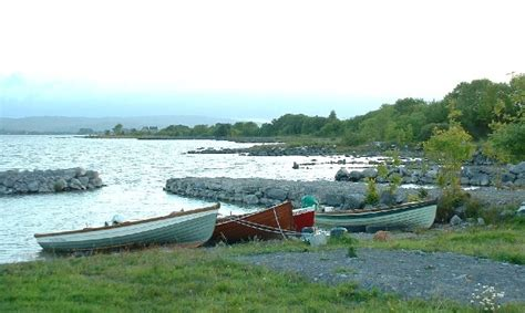 sea fishing boat licence ireland file fishing boats on inchiquin lough corrib jpg