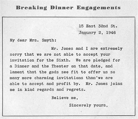 Invitation Letter With Reply Slip Breaking A Dinner Invitation Log Cabin Cooking