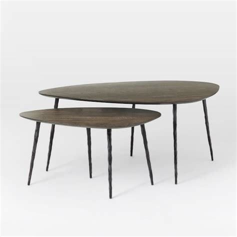 coffee table with nested ottomans coffee tables ideas best nesting coffee table ottoman