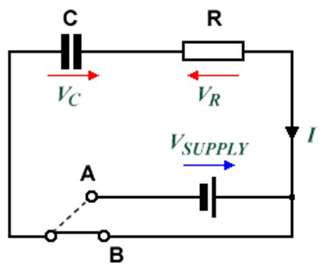 a capacitor can be safely discharged rc circuits
