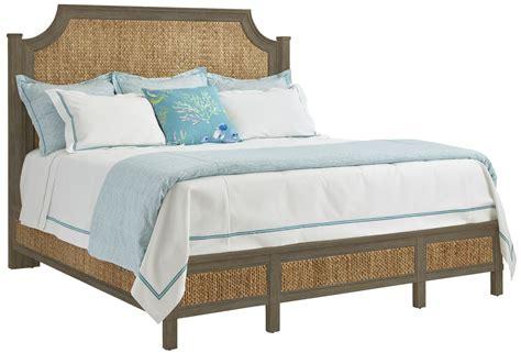 coastal beds coastal living resort deck water meadow king woven bed