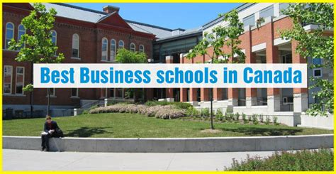 Canadian Business Schools Mba by Best Mba In Canada For International Students Mba