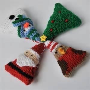 christmas tree ornaments knitting pattern pdf folksy