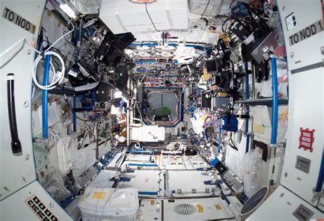 International Space Station Interior by Interactive Website Lets You Explore The International