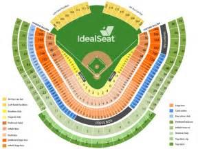Dodger stadium preferred loge box 155 seat view dodger stadium