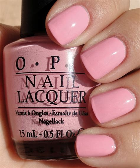 opi light pink colors kelliegonzo opi nicki minaj collection