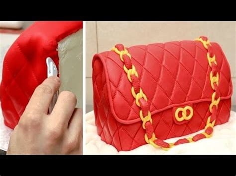 youtube membuat fondant fashion bag cake how to make torta bolso by