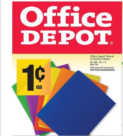 Office Depot One Cent Sale Josie S Smitty Deals Sale On Office Depot Brand 2