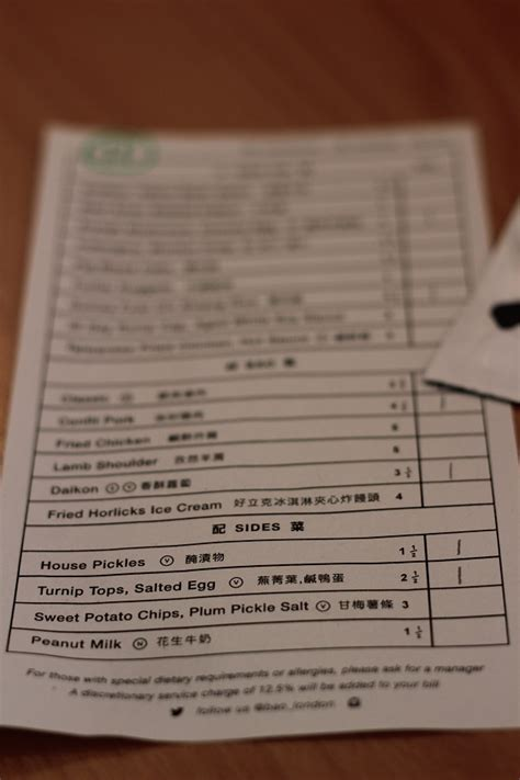 Baos Kitchen Menu by Bao Supper In The Suburbs