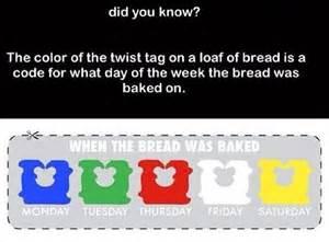 bread tie color code bread twists colors