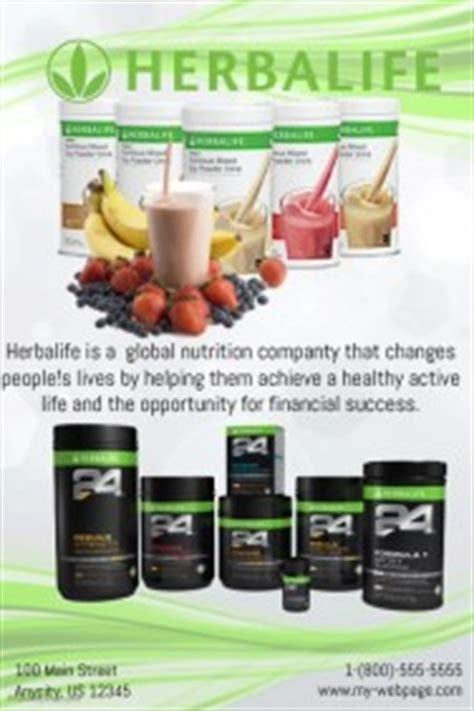 Customizable Design Templates For Herbalife Postermywall Herbalife Flyer Template