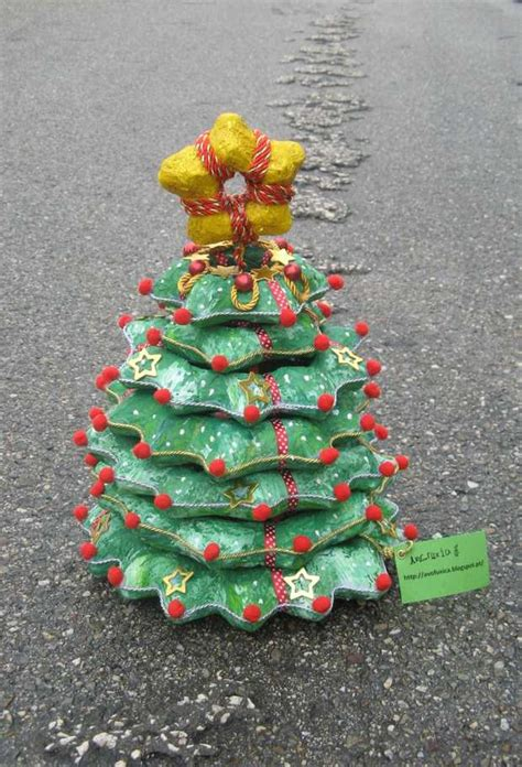 christmas decoration using recycled materials 21 diy alternative tree ideas for festive mood