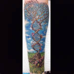 dna tree tattoo best tattoo ideas gallery