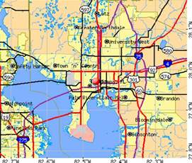Tampa Fl Zip Code Map by Tampa Bay Current Weather Map Trend Home Design And Decor