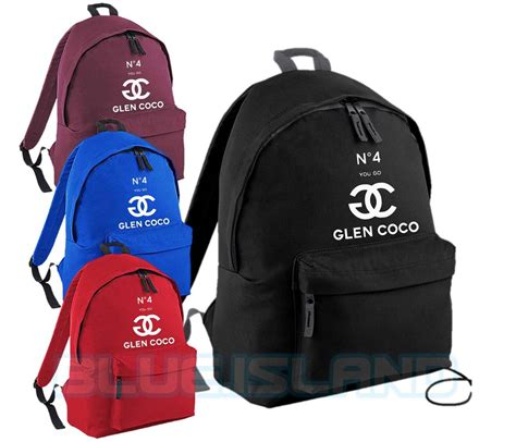 Glen Coco No 4 no 4 you go glen coco backpack bag swag dope fashion unisex