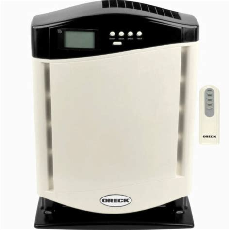 new oreck air purifier 3 speed remote revitalizer ion hepa filter system 743808010993 ebay