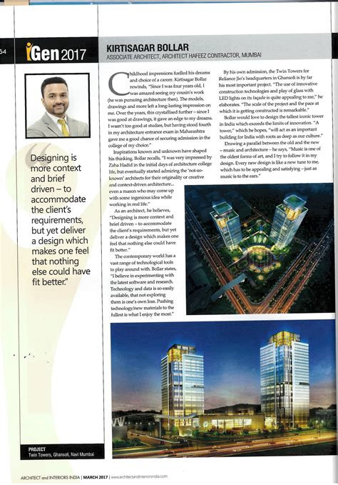 awards services hafeez contractor architects